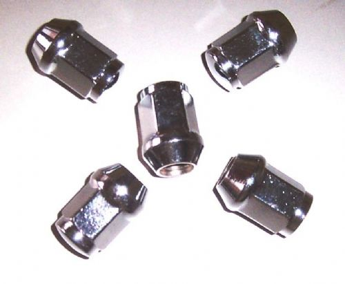 Chrome Plated Wheel Nut Set of  20 for any Mazda